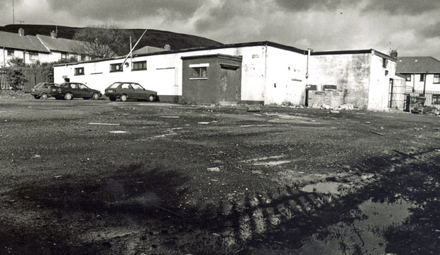 The old Tullymore headquarters